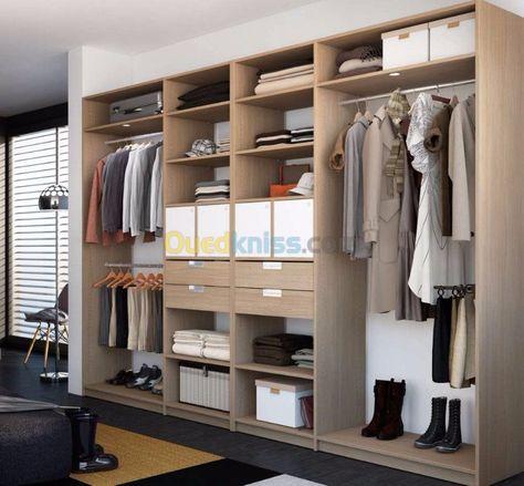 Cuisine Et Dressing Alger Baba Hassen Algerie Dressing Room Closet Home Custom Furniture