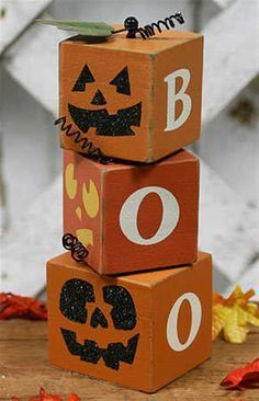 Primitive Wood Boo Halloween Block Set Table Decor Fall and Thanksgiving Holiday Crafts Wood Crafts Block Boo crafts Decor Fall Halloween Holiday Primitive Set Table Thanksgiving Wood Scrap Wood Crafts, Fall Wood Crafts, Halloween Wood Crafts, Primitive Wood Crafts, Wood Block Crafts, Holiday Crafts, Holiday Fun, Thanksgiving Holiday, Primitive Pumpkin