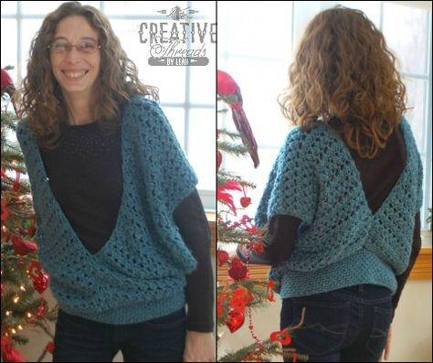 This free crochet vest pattern, the Swirling Leaves Vest, is one of my favorite pattern lines and is a great stitch. This pattern is a vest that has quite a bit of versatility especially in the seaming.