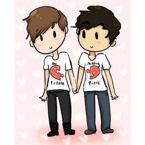 Gay cartoon drawings