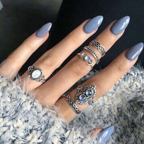 Nails & rings are like pb&j