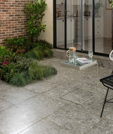 Spaces Adelfia This Outdoor Porcelain Tile Adds A Touch Of