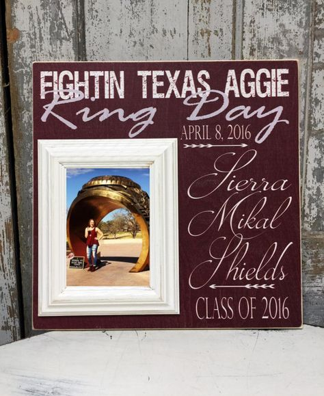 Hey, I found this really awesome Etsy listing at https://www.etsy.com/listing/268754991/texas-aggies-gig-em-whoop-12th-man-ring