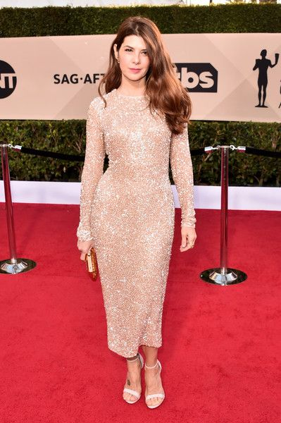 Actor Marisa Tomei attends the 24th Annual Screen Actors Guild Awards.