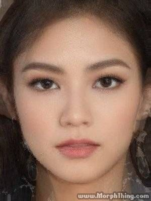 Half Dominican Half Korean Half Korean Half Korean Half White Cute Makeup