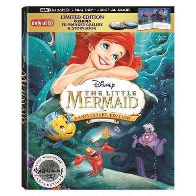 Win Disney S The Little Mermaid Anniversary Edition On Blu Ray From Screen Connections Sweepstakes Den Https Sweepstakesden Com Win Disneys The Little
