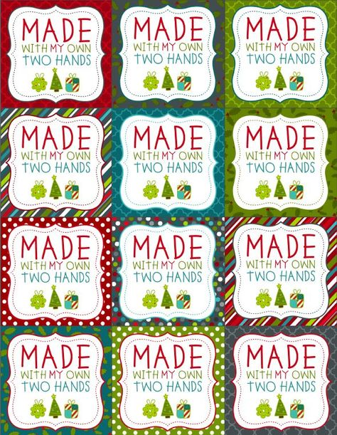 Enjoy these really fun FREE printable labels for homemade baked Christmas foods. These Christmas labels are designed by Erin Rippy of http://InkTreePress.com Labels are in ready to print PDF templates. Included in this collection are round labels for homemade goodies, Baked with Love, from the kitchen of and more :) ...