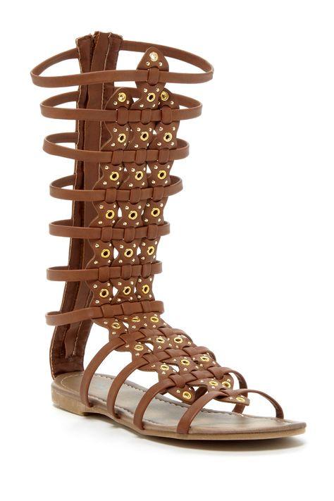 Carrini | Detailed Gladiator Sandal | Gladiator sandals