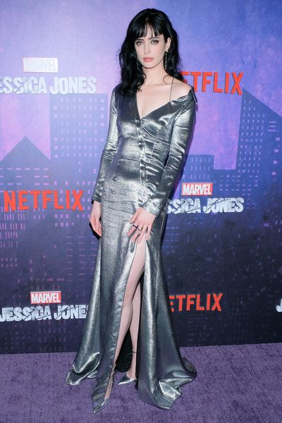 Actress Krysten Ritter attends the 'Jessica Jones' Season 2 New York Premiere.