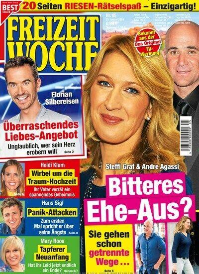 Freizeit Woche 5 2019 Steffi Graf Andre Agassi Ehe Aus Steffi Graf Andre Agassi Book Cover