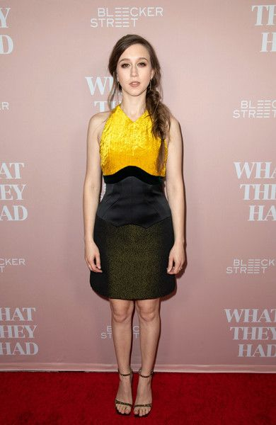 Taissa Farmiga attends Bleeker Street Presents Los Angeles Special Screening Of 'What They Had' at iPic Westwood.