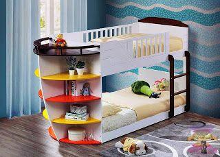 موديلات غرف الأطفال 2021 بارقى تصميمات غرف نوم الاطفال سرير دورين للأطفال Kids Bunk Beds Twin Bunk Beds Bunk Beds With Storage