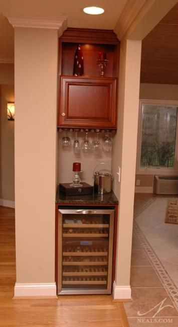 Small Home Bar Ideas Maximizing Wall Niche Space Small Bars For