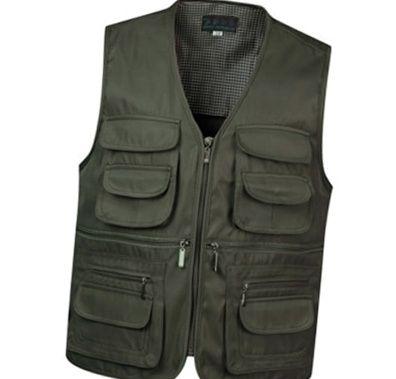 Casual Sleeveless Pockets Cargo Mens Waistcoat Vest Mens Jackets