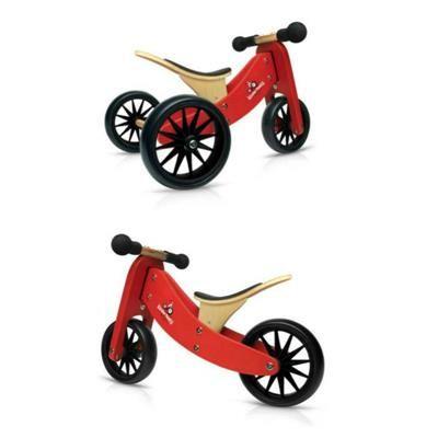Kinderfeets Tiny Tot 2 In 1 Balance Bike Red Educational Baby Toys Baby Toys Balance Bike