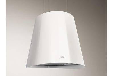 Hotte Ilot Elica Juno O 50 Cm Inox Blanc Choju003 Hotte Ilot Hotte Design Hotte Suspendue