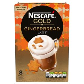 Nescafe Gold Gingerbread Latte Sachets Asda Groceries In