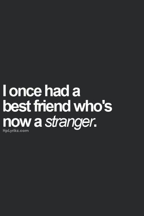 A stranger because they are a cheating liar.... no better reason for them to now be a stranger either.: