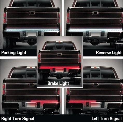 09-14 Ford F150 FULL LED Cargo Lamp High Mount 3rd Third Brake Light PLUG/&PLAY