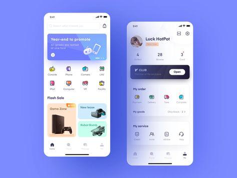 Rental platform App