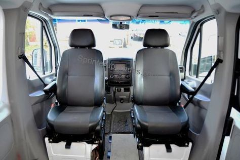 Sprinter Swivel Seat Base Adapter With Offset Pivot Sprinter Sprinter Van Swivel Seating