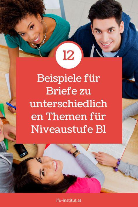 Schreibt deutsch brief auf wie man wie schreibt