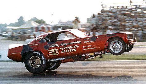Vintage Drag Racing Photos