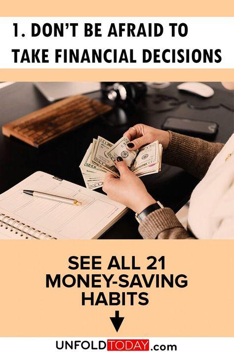 Do Not Be Afraid of Finance - Money Saving Tips