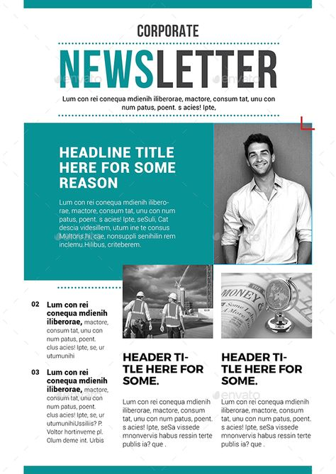 Newsletter Template 02 Preview