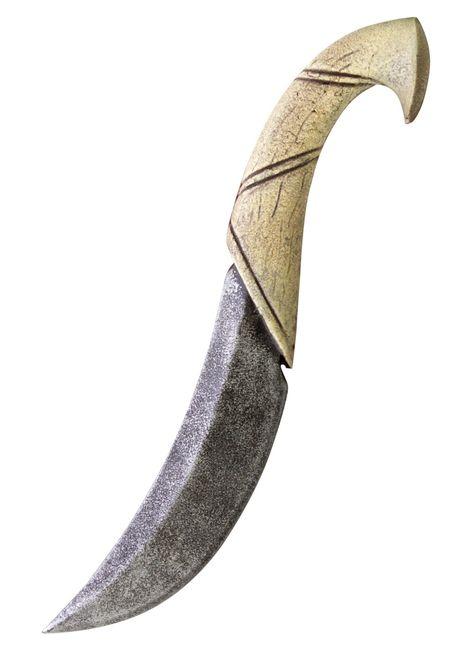 Epic Armoury Polsterwaffe Elfenwurfmesser Wurfmesser Messer LARP-Waffe 21cm