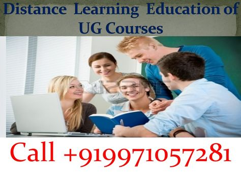 Online Admission For Distance Program Like As Bachelor Of Library