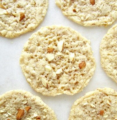 Keto Almond Cookies Vegan No Flour Almond Cookies Food