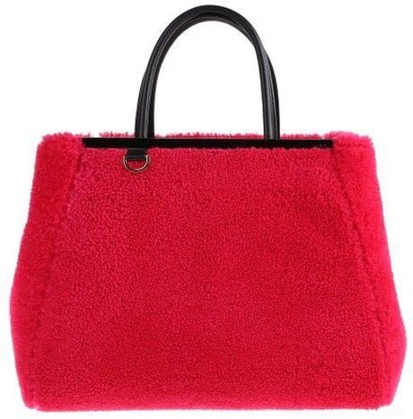 a2690c0a87fa FENDI Red 2 Jours Bag - Lyst
