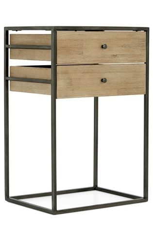 Buy Journal Acacia Bedside Table From The Next Uk Online Shop