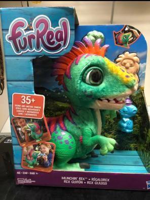 Dinosaur Robot Spits Smoke Figure Moves Roars Lights Toy Gift Realistic Kids USA