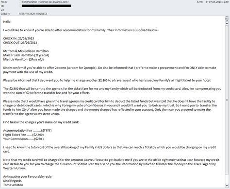 letter you ask them hotel reservation letters case manager - reservation letter