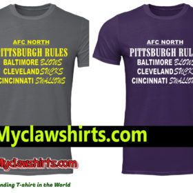 AFC North Pittsburgh rules Baltimore blows classic men s shirt ... f09b131d2
