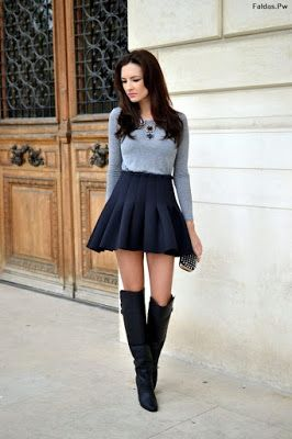 Faldas Negras De Vestir Faldas Faldas Faldas Negras Y Moda