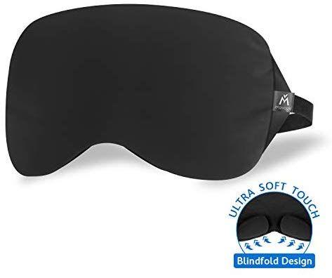 Amazon Com Sleep Eye Mask Patented Nose Baffle Design Blocks Out 99 Light Handmade Super Soft Sleep Mask For Hom Travel Pouch Work Travel Sleep Eye Mask