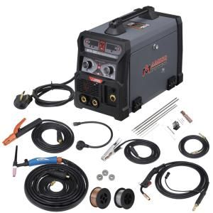 Amico Power 185 Amp Mig Wire Feed Flux Core Tig Torch Stick Arc Welder Weld Aluminum With 2t 4t 110 Volt 230 Volt Welding Mts 185 The Home Depot Arc Welders Shielded Metal Arc Welding Tig Torch