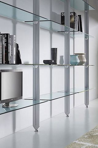 Need A Floating Glass Shelf For That New Entertainment System You Got For A Present Visit Glass Shelves Glass Wall Shelves Shelves
