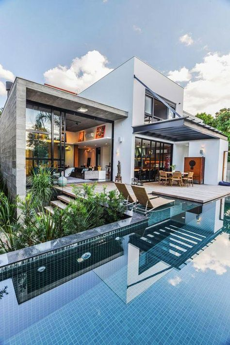 60 Schone Und Moderne Hauser Fotos Moderne Hausfassaden