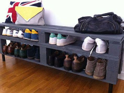 Rangement chaussures à prix mini ou à faire soi-même