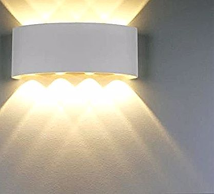 Lampe Murale Led 8w Blanc Moderne Aluminium Led Applique Murale Interieur Eclairage Mural Applique Murale Lumieres Blanc Chaude Achat Wall Lights Light Wall