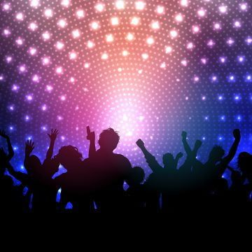 Party Crowd On Disco Lights Background 2102 Background Party People Png And Vector With Transparent Background For Free Download Lights Background Disco Lights Background Images