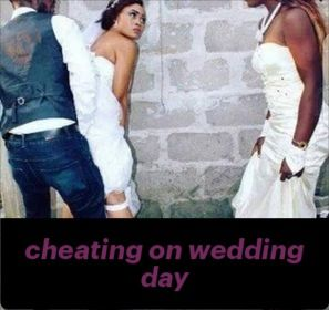 Caught Cheating The Day Before The Wedding In 2020 Wedding Caught Cheating Celebrities