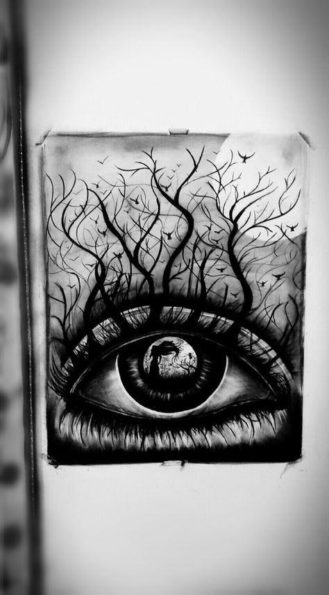 Charcoal Drowning