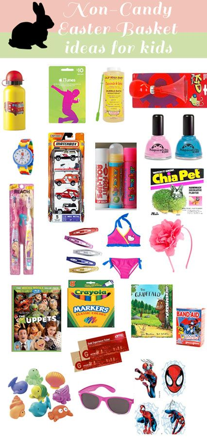 17 best images about easter on pinterest fun things happy and non candy easter basket ideas for the kiddos negle Choice Image