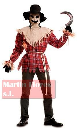 Disfraz Espantapájaros Terror Para Halloween En Sevilla Disfraces Y Golosinas Para Tu Fiesta En Nuestra Web Pel Halloween Scarecrow Scarecrow Halloween