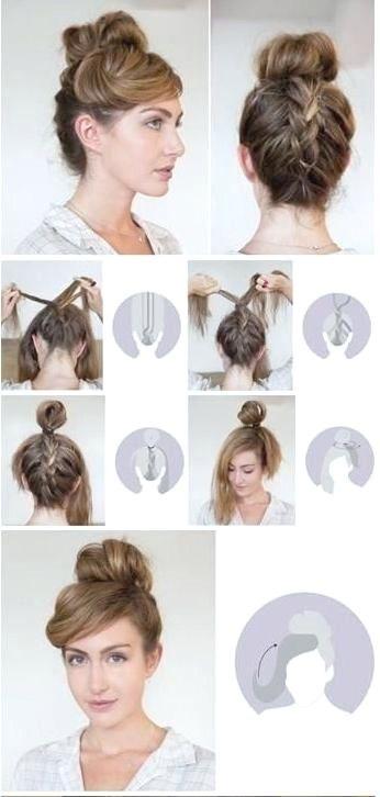 7 Einfache Step By Step Hair Tutorials Fur Anfanger Coole Frisuren Stilvolle Frisuren Hochzeitsfrisuren
